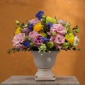 Copa flores primaverales